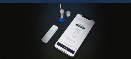 Gauss-Cellex rapid at-home Covid-19 antigen test