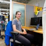 Leyla in Conolly lab